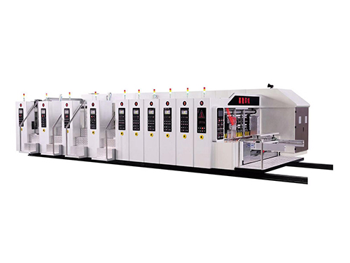 Full automatic vacuum transfer High defination flexo printer slotter die cutter