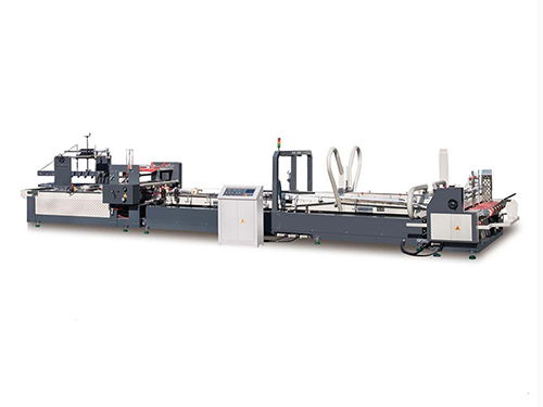Full automatic folder and gluer machine