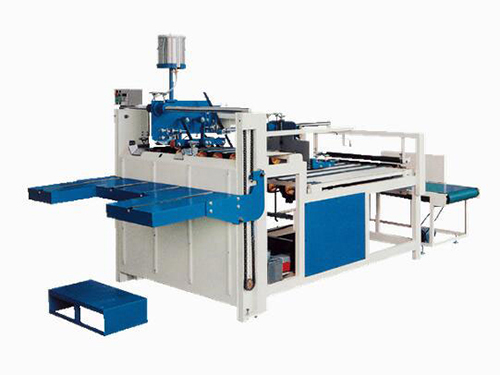 Semi automatic folder gluer