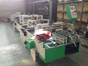small box folder gluer machine