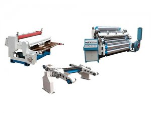 DW- Single facer corrugated paperboard production line